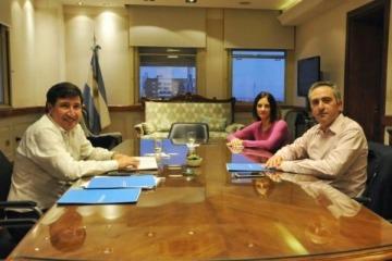 Larroque se reunió con Arroyo y acordaron potenciar el trabajo en conjunto entre Provincia y Nación