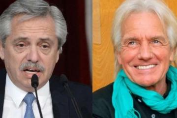 El sentido mensaje de Alberto Fernández por la muerte de Sergio Denis