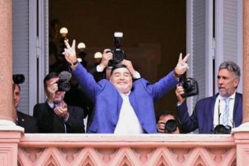Fuerte apoyo de Maradona a Alberto, Cristina, Kicillof y la contribución de los ricos que impulsa Máximo Kirchner