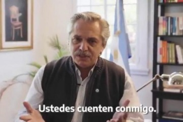 """""""Una Argentina más solidaria"""": el desafío que planteó construir Alberto este 25 de mayo"""