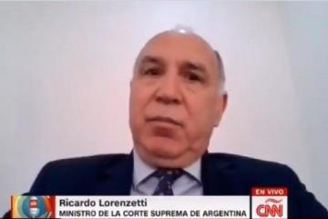 """Lorenzetti pidió """"defender las libertades"""" y que la cuarentena """"se libere donde se pueda liberar"""""""