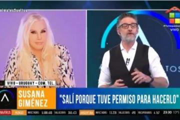 """Susana se fue a Uruguay entre """"el terror que nos conviertan en Venezuela"""" y los festejos de """"la revolución que sacó a Perón"""""""