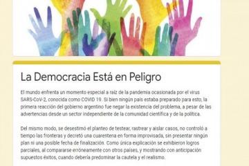 """""""Infectadura"""": la carta de los intelectuales macristas anticuarentena contra las medidas de Alberto"""