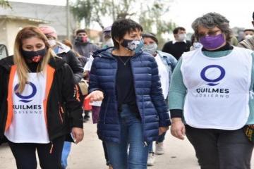 Mayra Mendoza otorgará un bono especial para los trabajadores municipales