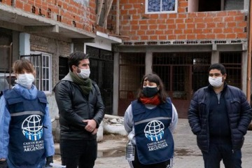 Ante la pandemia, el gobierno nacional profundiza su presencia en los barrios populares de la Ciudad