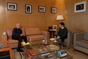 """""""Muy buena"""" reunión entre Axel y Larreta para continuar la coordinación de la cuarentena en el AMBA"""