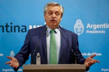 """Alberto afirmó que """"la pandemia está lejos de terminarse"""" pero es optimista por la vacuna que se probará en Argentina"""