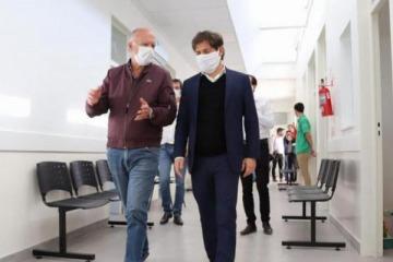 """Kicillof les deseó """"una pronta mejoría y fuerza"""" al intendente opositor y al oficialista que contrajeron coronavirus"""