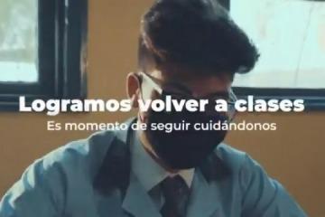 """San Juan vuelve a clases """"producto de nuestro esfuerzo y responsabilidad"""""""