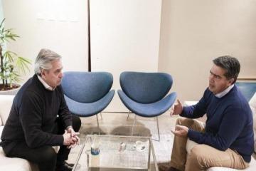 """Alberto Fernández: """"Podemos y tenemos que poner al país en marcha"""""""