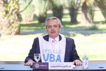"""""""Orgullosos de haber caído en la universidad pública"""": el recuerdo de Alberto al modelo educativo de Macri"""