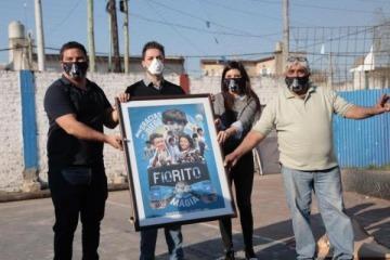 """A través de una movida solidaria """"la mano de D10S"""" volvió a Fiorito"""