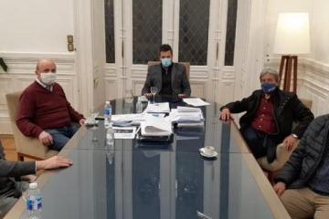 Massa recibió a representantes petroleros para analizar la agenda legislativa y la situación actual
