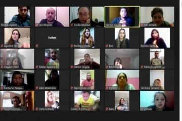 En el marco de la emergencia sanitaria, jóvenes dirigentes se reunieron para analizar el estado de situación de Jujuy