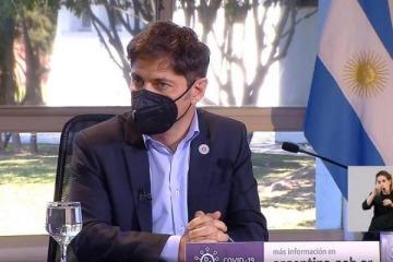 """Kicillof llamó a la responsabilidad política por el aislamiento: """"No es momento de buscar votos, ni cavar la grieta"""""""