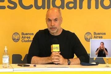 """ASPO en la Ciudad: terrazas, construcción, misas y Larreta insiste en las clases con """"algún grado de presencialidad"""""""