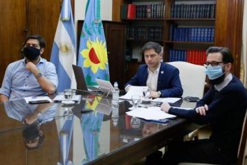 """Kicillof anunció más fondos para obras y envió un mensaje a intendentes macristas: """"El 2020 no es un año electoral"""""""