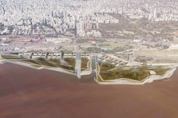 """Aprobaron la construcción de un parque con torres en Costa Salguero que denuncian como """"la inmobiliaria de Larreta"""""""