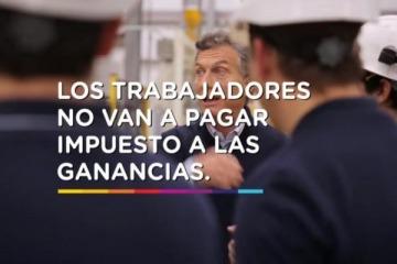 Insólito: Juntos por el Cambio pide eliminar Ganancias, una promesa incumplida por Macri en todo su mandato