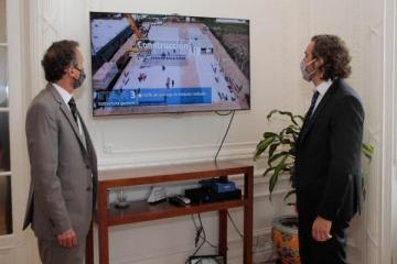 """Katopodis aseguró que hay """"700 obras en marcha"""" que esperan finalizarse """"en tiempo y forma"""""""