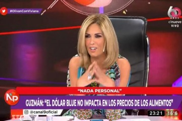 """Insólito: Viviana Canosa dice que puede llevar a Guzmán """"al conurbano profundo para darle una clase de 'lleca'"""""""