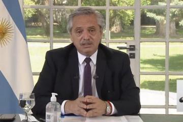 Alberto anunció la ampliación de la AUH a 1 millón de niños con una inversión de $ 30 mil millones