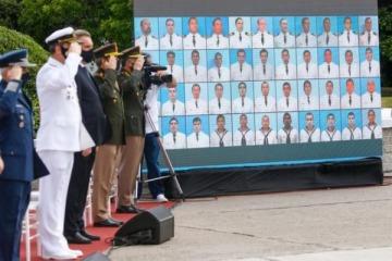 Homenaje en Mar del Plata a tripulantes del ARA San Juan: la carta del Papa y el mensaje de Alberto