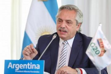 """G20: Alberto destacó """"la gran oportunidad"""" para hacer un mundo más igualitario y pidió que """"la vacuna"""" llegue a todos"""