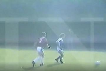 """El día que Macri y """"Los Cardenales"""" desafiaron a """"Los Maradona"""" y el equipo de Diego les ganó de visitante"""