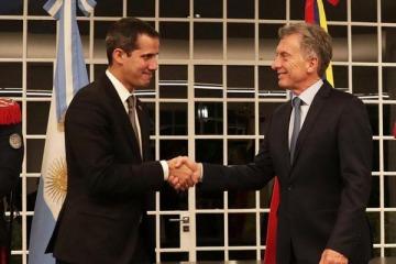 EEUU: desnudan trama de corrupción y coimas de Guaidó, autoproclamado presidente de Venezuela que apoyó Macri