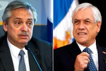 Alberto suspendió su visita a Chile por la cuarentena de Piñera como contacto estrecho de un contagiado