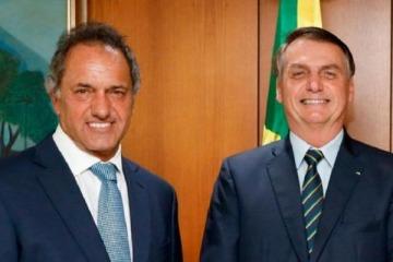Cumbre Bolsonaro - Scioli: garantizan que las exportaciones de trigo argentino a Brasil siguen su curso