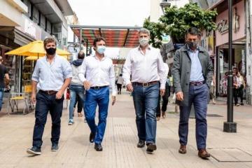 Prat Gay celebró el pacto electoral de Cambiemos en Tucumán con el hijo del represor Bussi