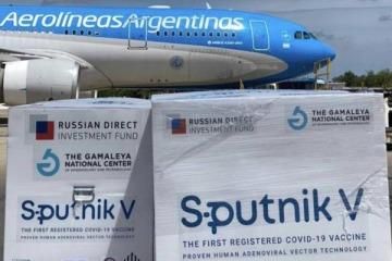 Vacunación: llegan más de un millón de Sputnik y Argentina totalizará más de 3,5 millones de dosis