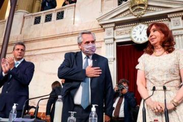 Ante la Asamblea Legislativa, Alberto Fernández anunció que denunciará a Mauricio Macri por el préstamo del FMI