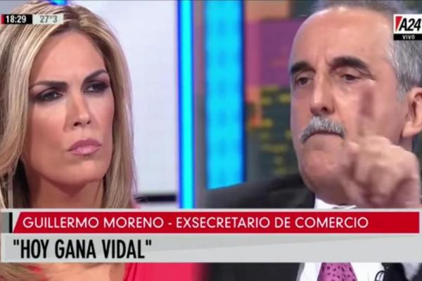 "Según Guillermo Moreno, Cristina ""sacaría menos votos"" que Vidal en la provincia de Buenos Aires"