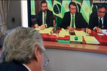 La cumbre del Mercosur será virtual por el coronavirus y no habrá mano a mano presencial entre Alberto y Bolsonaro