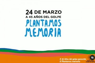 #PlantamosMemoria: en el marco del 24 de marzo, impulsan la plantación de 30 mil árboles en áreas protegidas