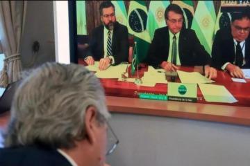 """Alberto Fernández cruzó a Jair Bolsonaro: """"En Argentina no hay toque de queda"""""""