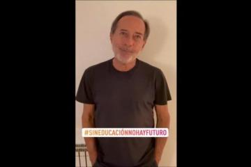 Francella y Maru Botana: el spot de famosos a favor de las clases presenciales compartido por JXC
