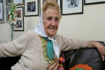 Murió Porota, la vicepresidenta de las Madres de Plaza de Mayo