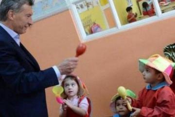 Macri pagó 62 millones de dólares por jardines de infantes que nunca se hicieron
