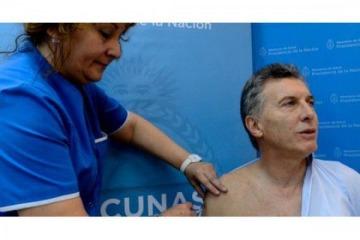"""Macri: de decir """"que mueran los que tengan que morir"""" a no vacunarse hasta que lo hagan """"todos los de riesgo"""""""