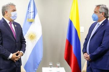 Cruce entre Alberto y Cancillería de Colombia por el violento conflicto social en ese país