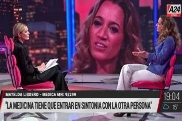 Viviana Canosa invitó a una médica antivacunas y criticó a los profesionales de la salud que luchan contra el COVID