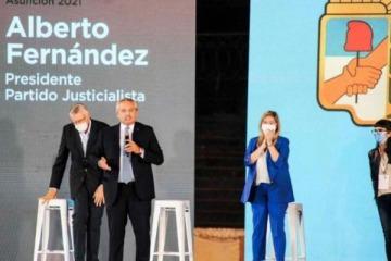 Alberto encabeza un acto del PJ a 47 años del fallecimiento del General Perón
