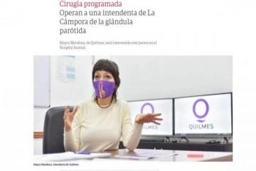 """Operan a Mayra Mendoza pero para Clarín no es intendenta de Quilmes sino """"de La Cámpora"""""""