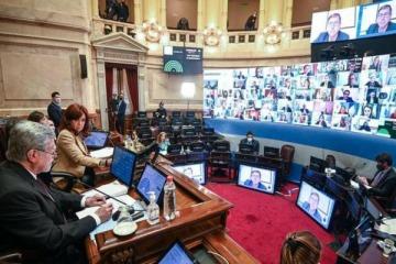 El Senado define el DNU por vacunas pediátricas y vota monotributo, cannabis y biocombustibles