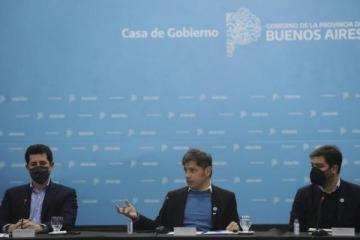 """Kicillof presentó un nuevo plan de obras y destacó que """"ponen en marcha la economía y generan empleo"""""""