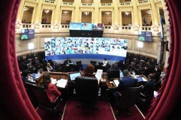 Tras el receso, sesiona el Senado: trata designaciones de jueces y proyectos para limitar intereses por mora en tarifas